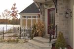Sunbelt Home Plan Door Detail Photo - Kennywood Craftsman Home 032D-0609 | House Plans and More