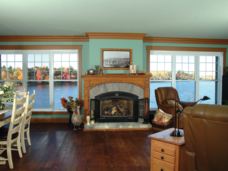 Sunbelt Home Plan Fireplace Photo 01 - Kennywood Craftsman Home 032D-0609 | House Plans and More
