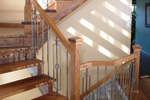Sunbelt Home Plan Stairs Photo - Kennywood Craftsman Home 032D-0609 | House Plans and More
