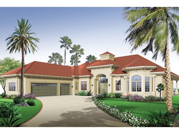 San Jacinto Florida Style Home Plan 032d 0666 House Plans And More