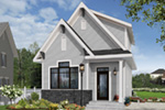 English Cottage House Plan Front Photo 04 - Wickham Small Traditional Home 032D-0812 | House Plans and More