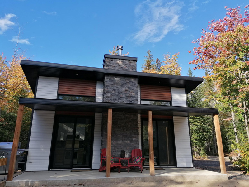 Vacation House Plan Front Photo 01 - Yelton Modern Home 032D-0813 | House Plans and More