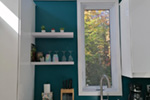 Vacation House Plan Kitchen Photo 01 - Yelton Modern Home 032D-0813 | House Plans and More