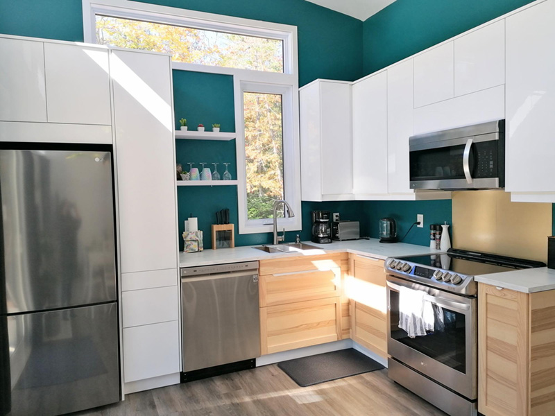 Vacation House Plan Kitchen Photo 02 - Yelton Modern Home 032D-0813 | House Plans and More