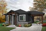 Vacation House Plan Front Photo 02 - Fenton Craftsman Home 032D-0815 | House Plans and More