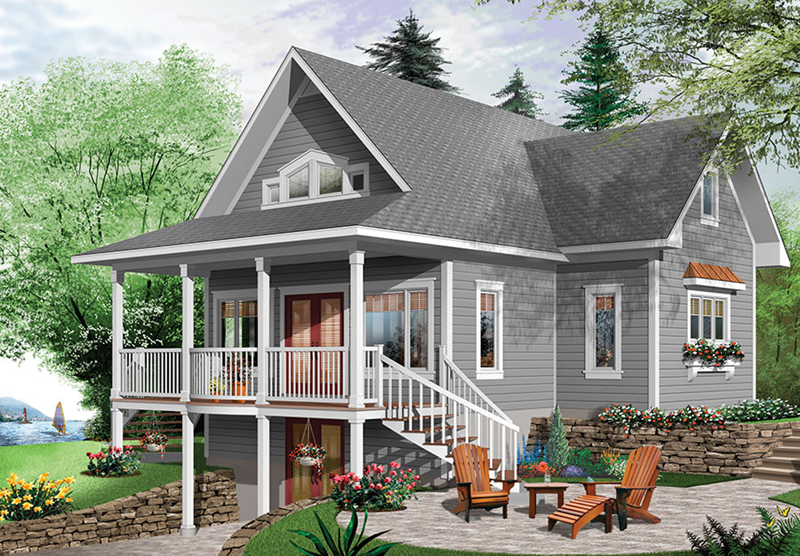 Brown Hill Lake Home Plan 032D-0817 | House Plans and More