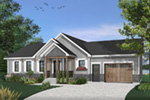Country House Plan Front Photo 02 - Gareth Craftsman Ranch Home 032D-0823 | House Plans and More