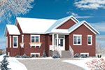 Ranch House Plan Front Photo 02 - Poppy Country Home 032D-0824 | House Plans and More