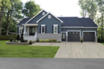 Southern House Plan Front of Home - Sackston Country Home 032D-0825 | House Plans and More