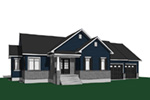 Southern House Plan Front Photo 01 - Sackston Country Home 032D-0825 | House Plans and More