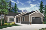 Country House Plan Front Photo 01 - Martin Creek Country Home 032D-0827 | House Plans and More