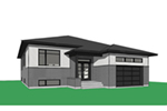 Ranch House Plan Front Image - Moxie Modern Prairie Home 032D-0839 | House Plans and More