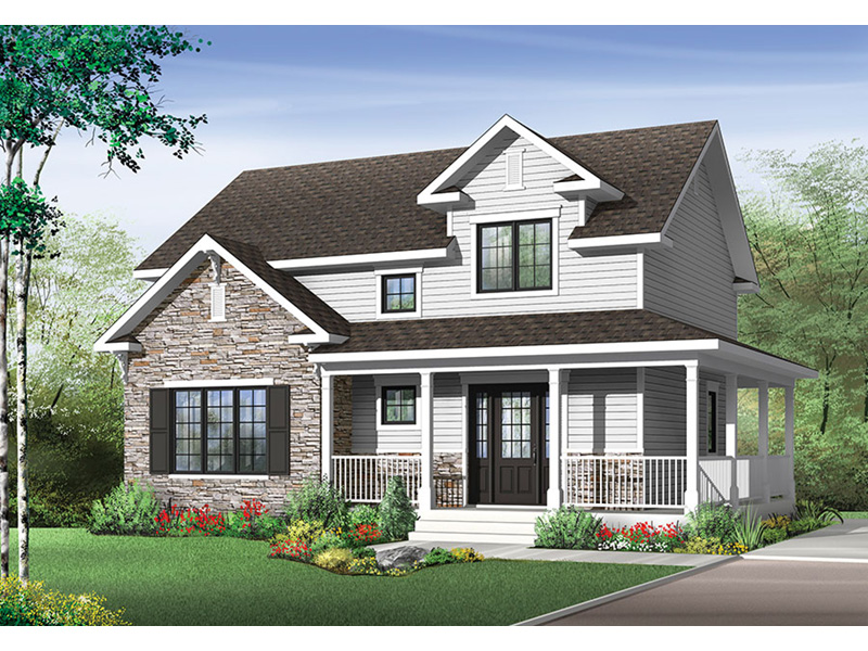 Front Photo 01 - Joshlynn Country Home 032D-0852 | House Plans and More