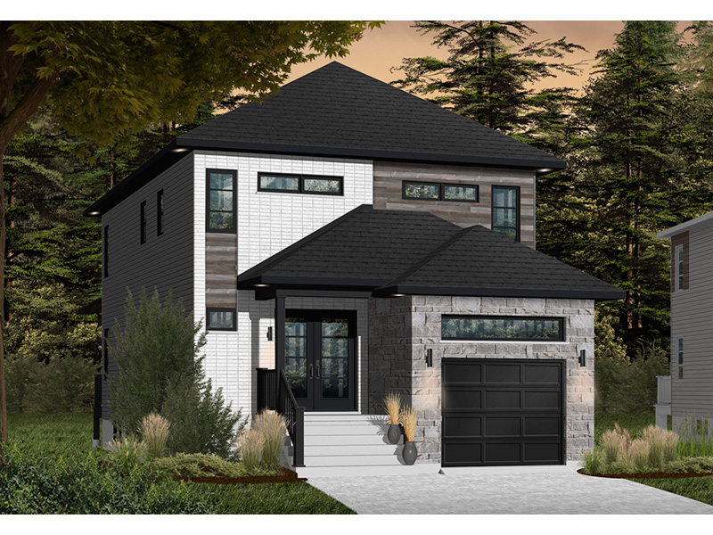 Front Photo 01 - Malina Modern Prairie Home 032D-0856 | House Plans and More