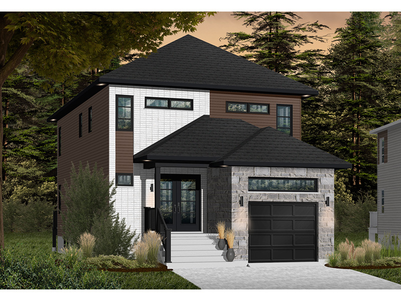 Front Photo 02 - Malina Modern Prairie Home 032D-0856 | House Plans and More