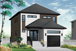 Front Photo 03 - Malina Modern Prairie Home 032D-0856 | House Plans and More