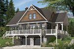 Front Photo 02 - Overlook Vacation Home 032D-0858   House Plans and More