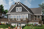Front Photo 01 - Anson Isle Country Lake Home 032D-0859 | House Plans and More