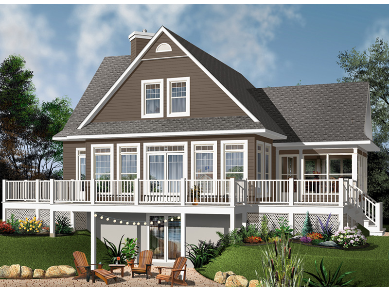Front Photo 02 - Anson Isle Country Lake Home 032D-0859 | House Plans and More
