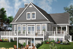 Front Photo 03 - Anson Isle Country Lake Home 032D-0859 | House Plans and More