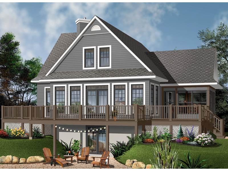 Front Photo 04 - Anson Isle Country Lake Home 032D-0859 | House Plans and More