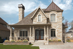 European House Plan Front of Home - Gaubert European Home 032D-0919 | House Plans and More