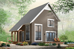Modern House Plan Front Photo 02 - Ingleside Prairie Style Home 032D-0935 | House Plans and More