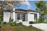 Ranch House Plan Front Photo 03 - Camille Hill 032D-0963 | House Plans and More