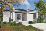 Ranch House Plan Front Photo 04 - Camille Hill 032D-0963 | House Plans and More