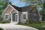 Mountain Home Plan Front of Home - 032D-1063 | House Plans and More
