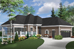 Vacation House Plan Front Photo 01 - 032D-1087 | House Plans and More