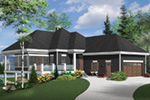 Vacation House Plan Front Photo 02 - 032D-1087 | House Plans and More