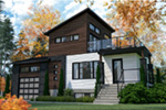 Modern House Plan Front Photo 01 - 032D-1108 | House Plans and More