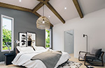 Mountain Home Plan Bedroom Photo 01 - 032D-1120 | House Plans and More