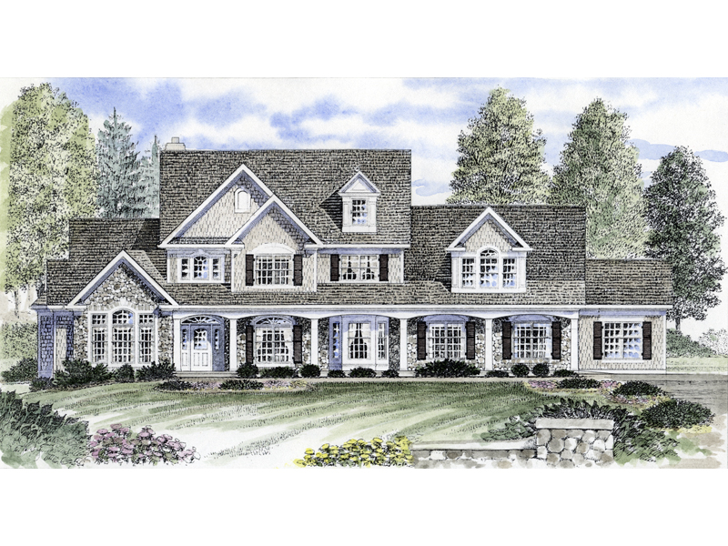 Forestburg Southern Home Plan 034D-0063 | House Plans and More