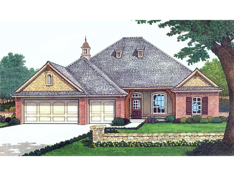 Vandiver Hill European Home Plan 036D-0098   House Plans and ... on european duplex house plans, brick ranch style house plans, cottage style ranch house plans, european cottage home plans, european country house plans,
