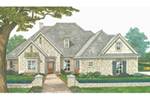 European House Plan Front of Home -  036D-0217 | House Plans and More