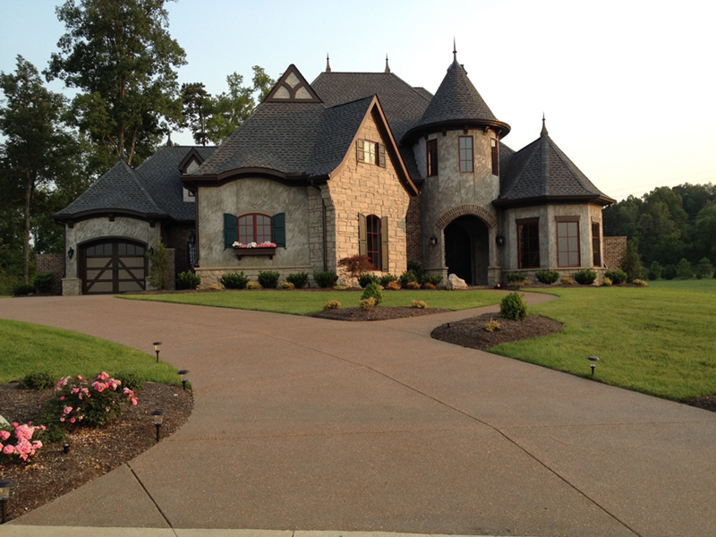 Victorian House Plan Front of Home - Holstein Estate Luxury Home 036D-0218 | House Plans and More
