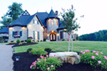 Victorian House Plan Front Photo 03 - Holstein Estate Luxury Home 036D-0218 | House Plans and More