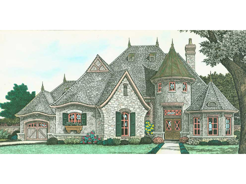 Victorian House Plan Front Photo 07 - Holstein Estate Luxury Home 036D-0218 | House Plans and More