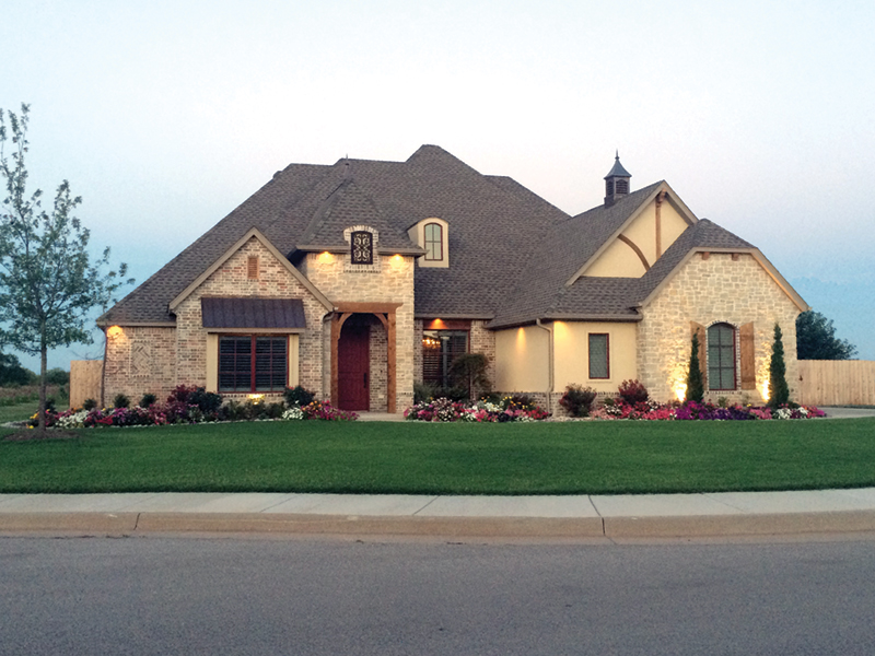 European House Plan Front of Home - Kordell European Ranch Home 036D-0219 | House Plans and More