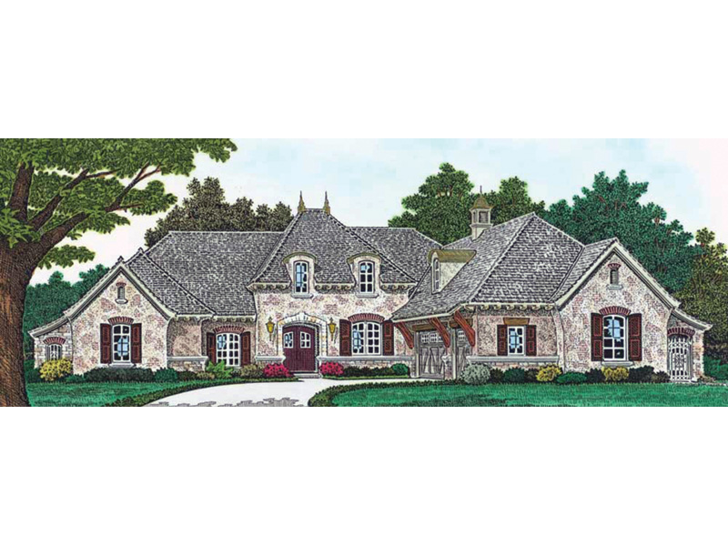 European House Plan Front Photo 01 - Lachlan Luxury European Home 036D-0220 | House Plans and More