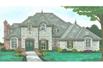 Front of Home -  036D-0221 | House Plans and More