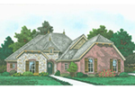 Front of Home -  036D-0224 | House Plans and More