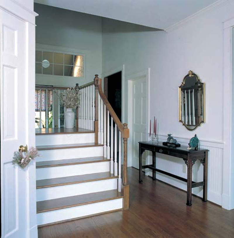Country House Plan Stairs Photo - Hawthorne Pass Farmhouse 038D-0005 | House Plans and More