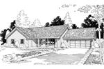 Bow Window Enhances Façade Of This Home