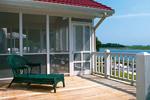 Modern House Plan Deck Photo 01 - Thunder Bay Sunelt Home 038D-0175 | House Plans and More