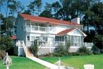 Modern House Plan Rear Photo 01 - Thunder Bay Sunelt Home 038D-0175 | House Plans and More