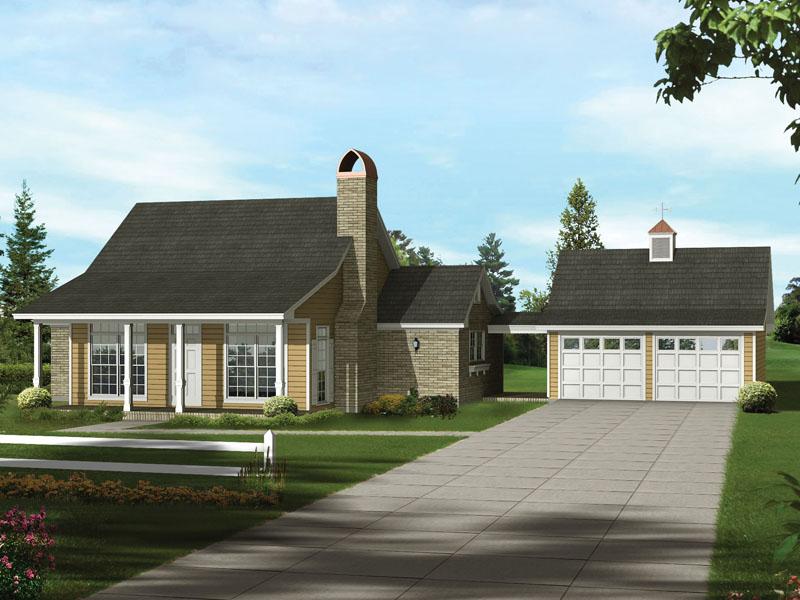 Lemoncove Acadian Ranch Home Plan 039D-0004 | House Plans ... on
