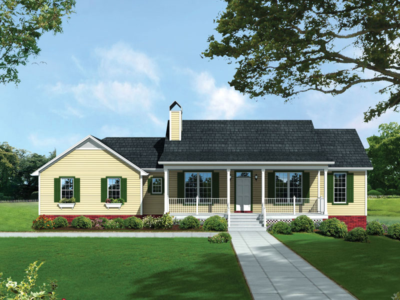McDowell Country Home Plan 039D-0036 | House Plans and More on